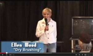 Anti-Aging Tip from Ellen Wood - Dry Brush Your Skin