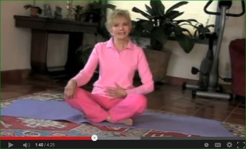 Anti-Aging Tip from Ellen Wood: Deep Breathing - How To Do It!